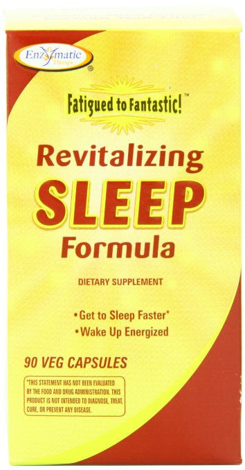 Enzymatic Therapy Revitalizing Sleep Formula, 90 Veg Capsules