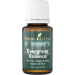 Young Living Evergreen Essence 15 ML 100 % Therapeutic Grade Essential Oil Supplement
