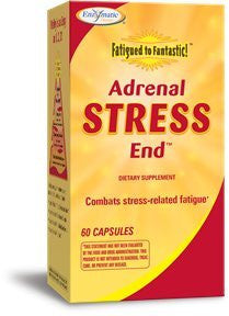 Fatigued to Fantastic! Adrenal Stress-End Enzymatic Therapy Inc. 60 Caps