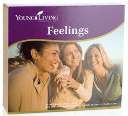Young Living Feelings Essential Oils Kit Includes 6 - 5 ML Bottles of Valor, Harmony, Forgiveness, Inner Child, Release, and Present Time