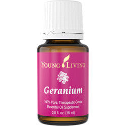 Young Living Geranium 15 ML 100 % Therapeutic Grade Essential Oil Supplement