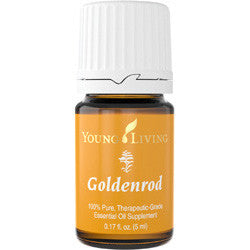 Young Living Goldenrod 5 ML 100 % Therapeutic Grade Essential Oil Supplement