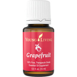 Young Living Grapefruit 15 ML 100 % Therapeutic Grade Essential Oil Supplement