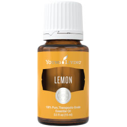Young Living Essential Oils Lemon 15 ML 100 % Pure Therapeutic Grade Essential Oil Supplement
