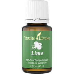 Young Living Lime 15 ML 100 % Therapeutic Grade Essential Oil Supplement