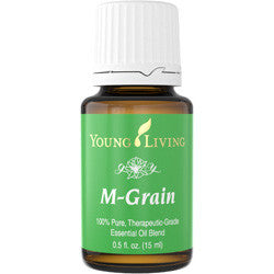 Young Living M-Grain 15 ML 100 % Therapeutic Grade Essential Oil Supplement