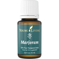 Young Living Marjoram 15 ML 100 % Therapeutic Grade Essential Oil Supplement