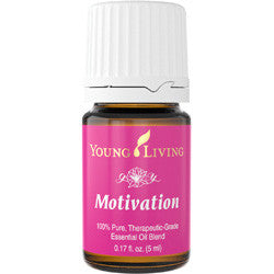 Young Living Motivation 5 ML Blend 100 % Therapeutic Grade Essential Oil Supplement