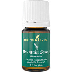 Young Living Mountain Savory 5 ML 100 % Therapeutic Grade Essential Oil Supplement