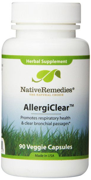 Native Remedies AllergiClear for Relief during Allergy Season (90 Tablets)