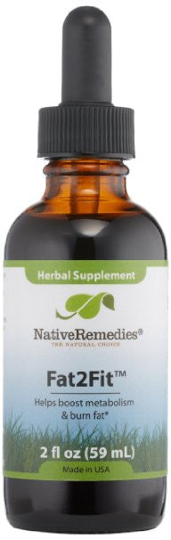 Native Remedies Fat2fit Weight-Loss Care, 2 Fluid Ounce