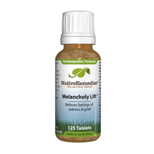 Native Remedies Melancholy Lift To Temporarily Relieve Feelings Of Melancholy, Sadness And Grief (125 Tablets)