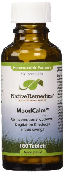 Native Remedies Moodcalm To Temporarily Calm Emotional Outbursts (180 Tablets)