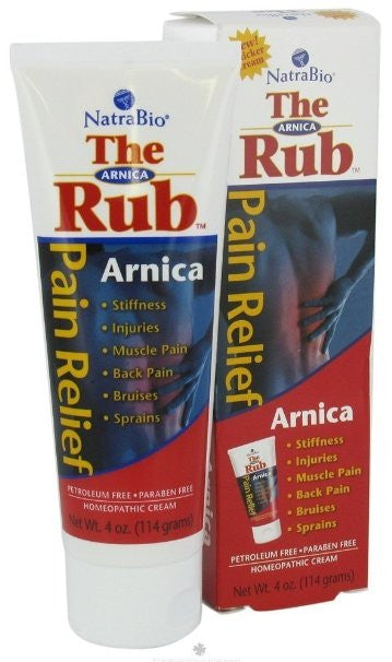 Natra-Bio - Arnica Rub 4 Oz, 2 Pack