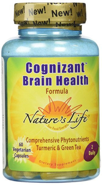 Nature's Life Cognizant Herbal Supplement, 60 Count