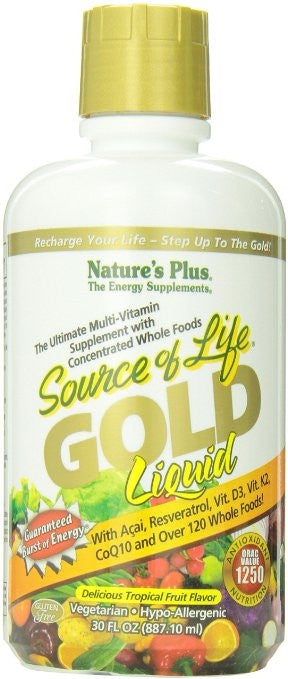 Nature's Plus - Source Of Life Gold Liquid 30 Oz