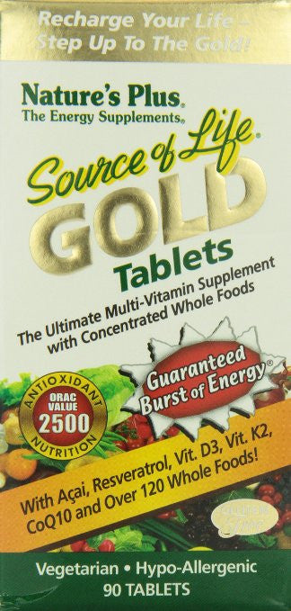 Nature's Plus - Source Of Life Gold Tablets 90