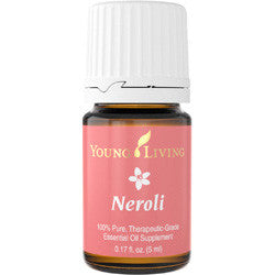 Young Living Neroli 5 ML Bottle 100 % Pure Therapeutic Grade Essential Oil Supplement
