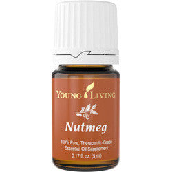 Young Living Nutmeg 5 ML 100 % Therapeutic Grade Essential Oil Supplement