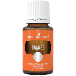 Young Living Essential Oils Orange 15 ML 100 % Therapeutic Grade Essential Oil Supplement
