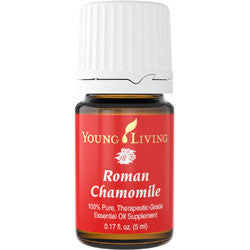Young Living Roman Chamomile 5 ML 100 % Therapeutic Grade Essential Oil Supplement