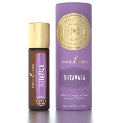 Young Living RutaVala 10 ML Blend Roll On 100% Pure Therapeutic Grade Essential Oil Supplement