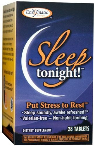 Sleep Tonight - 28 - Tablet from Enzymatic Therapy