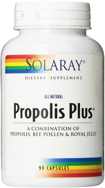 Solaray Propolis Plus Supplement, 200 mg, 90 Count