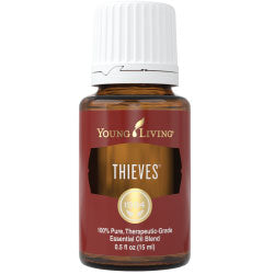 Young Living Essential Oils Thieves 15 ML Bottle 100 % Pure Therapeutic Grade Essential Oil Supplement