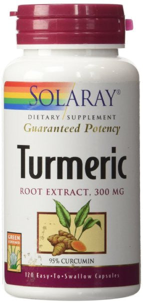 Turmeric Root Extract Solaray 120 Caps