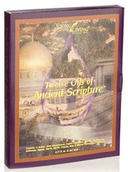 Young Living Twelve Oils of Ancient Scripture 100% Therapeutic Grade Oils (12) 5 ML Bottles with DVD