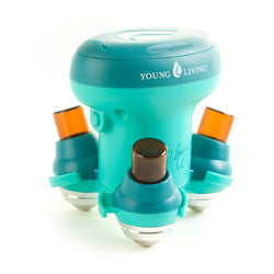 Young Living Vitassage Essential Oil Dispensing Massager can dispense up to 3 of your favorite oils at once to create the ultimate experience!