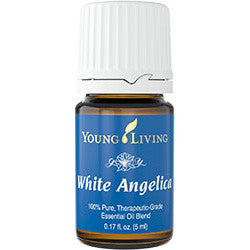 Young Living White Angelica 5 ML Blend 100 % Therapeutic Grade Essential Oil Supplement