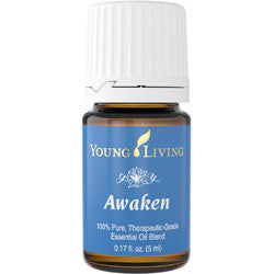 Young Living Awaken 5 ML 100 % Pure Therapeutic Grade Essential Oil Supplement