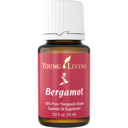 Young Living Bergamot 15 ML 100% Pure, Therapeutic Grade Essential Oil Supplement