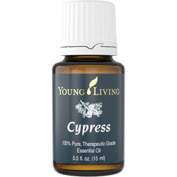 Young Living Cypress 15 ML 100 % Pure Therapeutic Grade Essential Oil Supplement