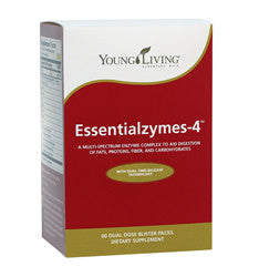 Young Living Essentialzyme - 4 120 CT Capsules