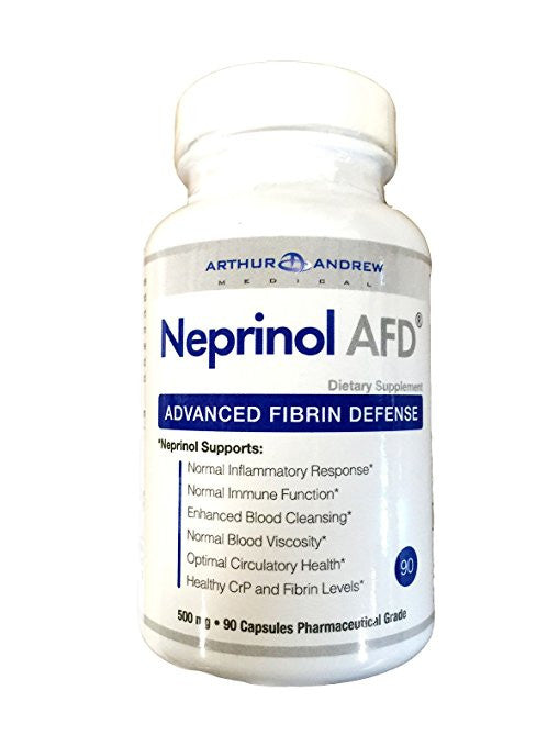 Neprinol, 500 mg, 90 capsules by Arthur Andrew Medical