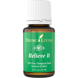 Young Living Relieve It 15 ML Blend 100 % Pure Therapeutic Grade Essential Oil Supplement