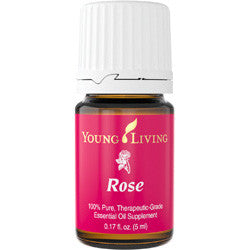 Young Living Rose 5 ML 100 % Pure Therapeutic Grade Essential Oil Supplement