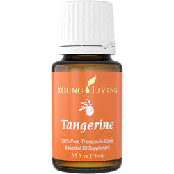 Young Living Tangerine 15 ML 100 % Therapeutic Grade Essential Oil Supplement