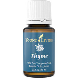 Young Living Thyme 15 ML 100 % Therapeutic Grade Essential Oil Supplement EarthKosher Certified
