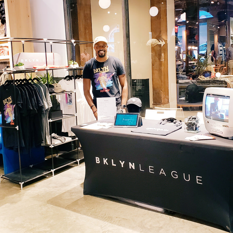 BKLYN LEAGUE x J. CREW Men's Shop Partnership