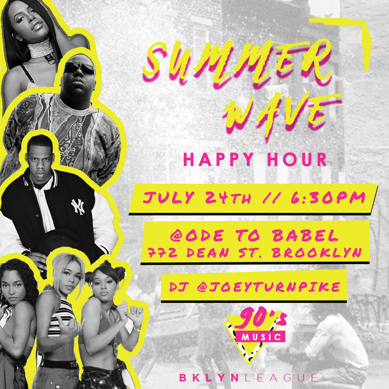 Invite: Summer Wave // Happy Hour // 7.24