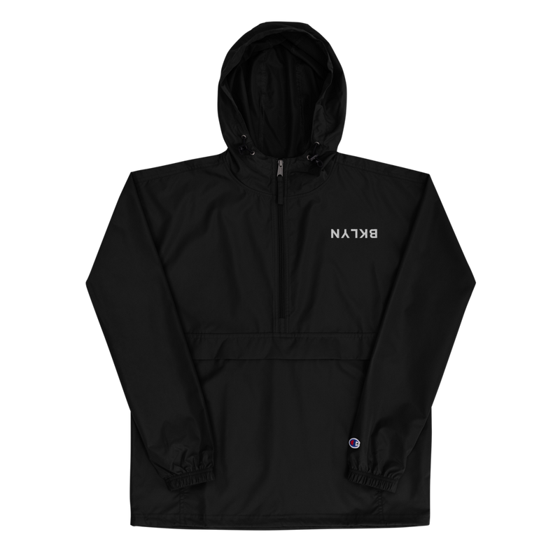 BKLYN Flip Embroidered Champion Packable Jacket - BKLYN LEAGUE