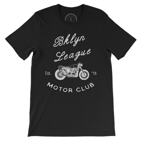 Motor Club Tee - Black - BKLYN LEAGUE