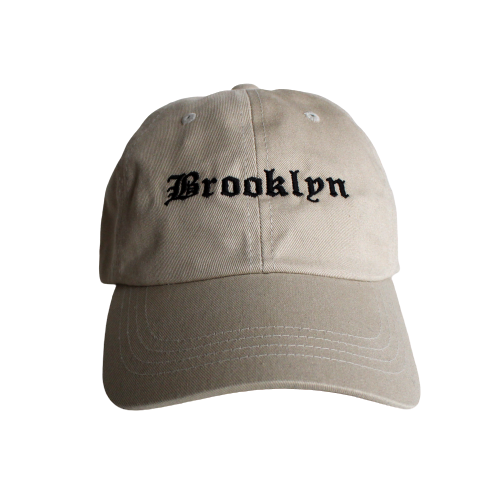 Brooklyn Dad Hat - Khaki