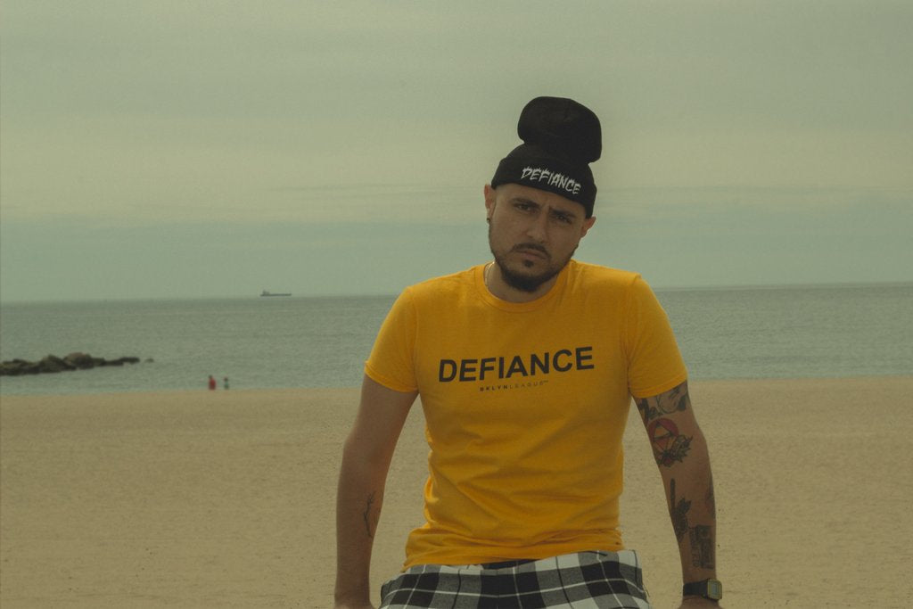 Defiance Tee - Gold