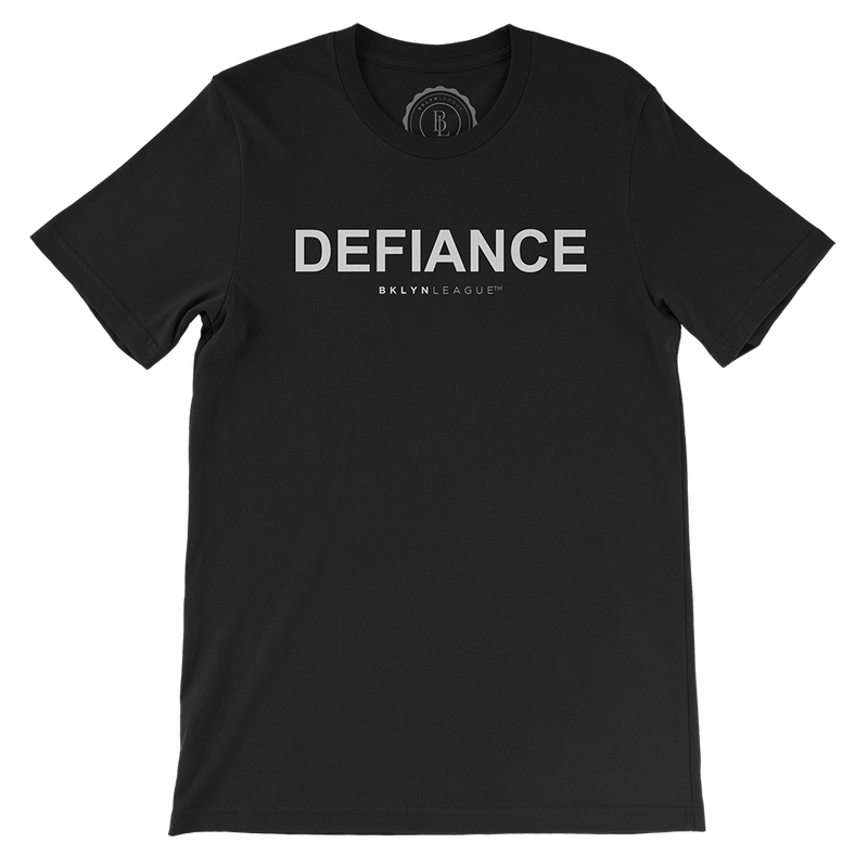 Defiance Tee - Black - BKLYN LEAGUE