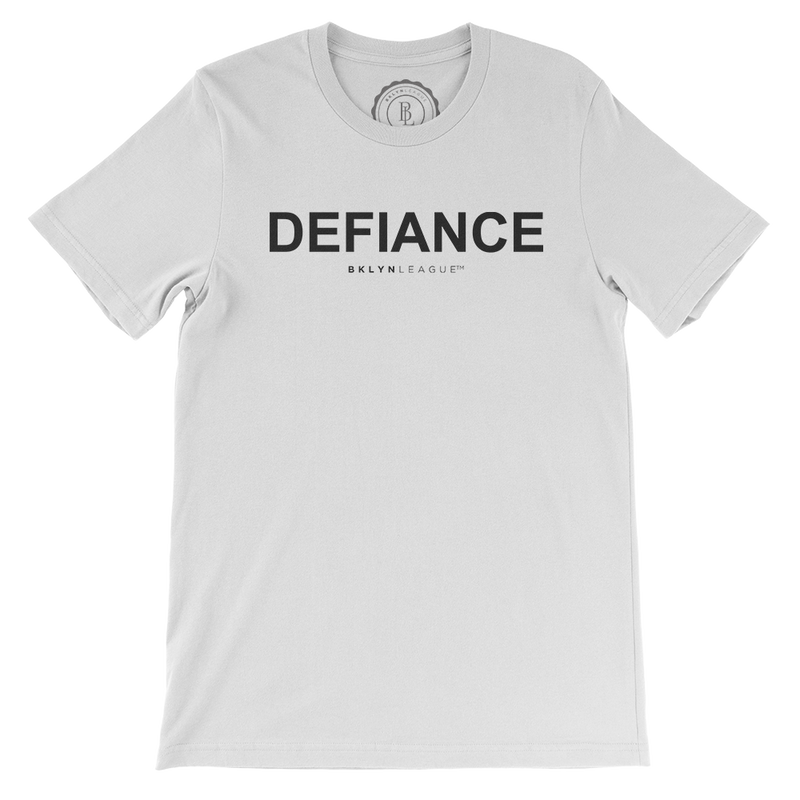 Defiance Tee - White - BKLYN LEAGUE